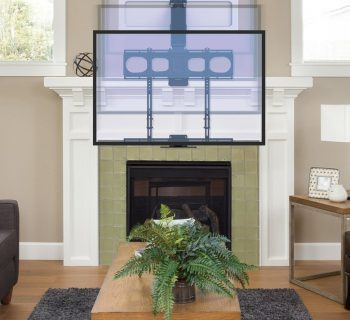 best fireplace tv mount