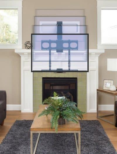 best fireplace tv mount